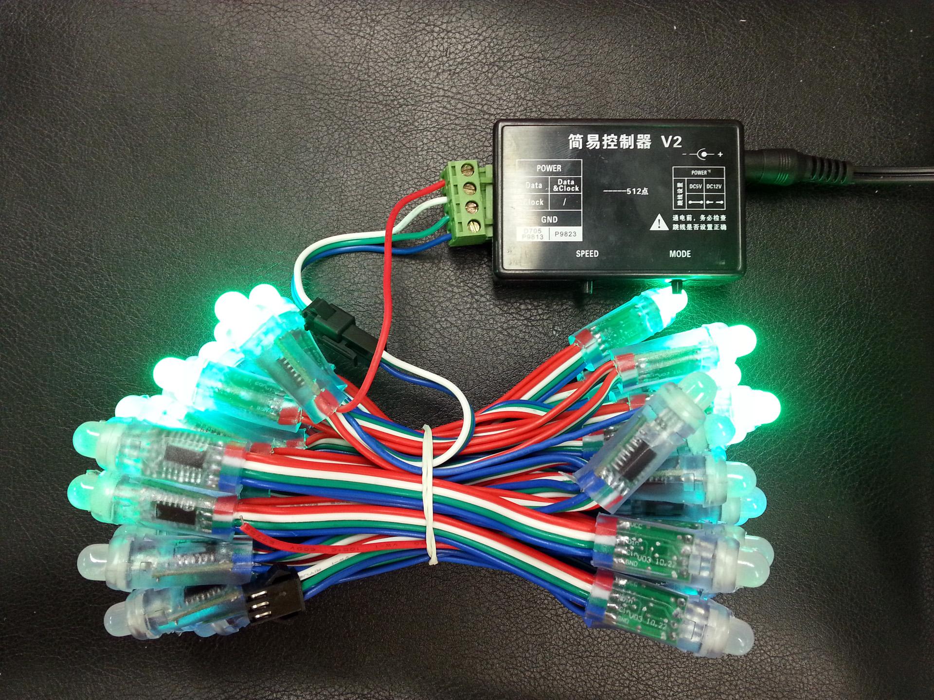5V UCS5903 IC programmable RGB LED pixel string