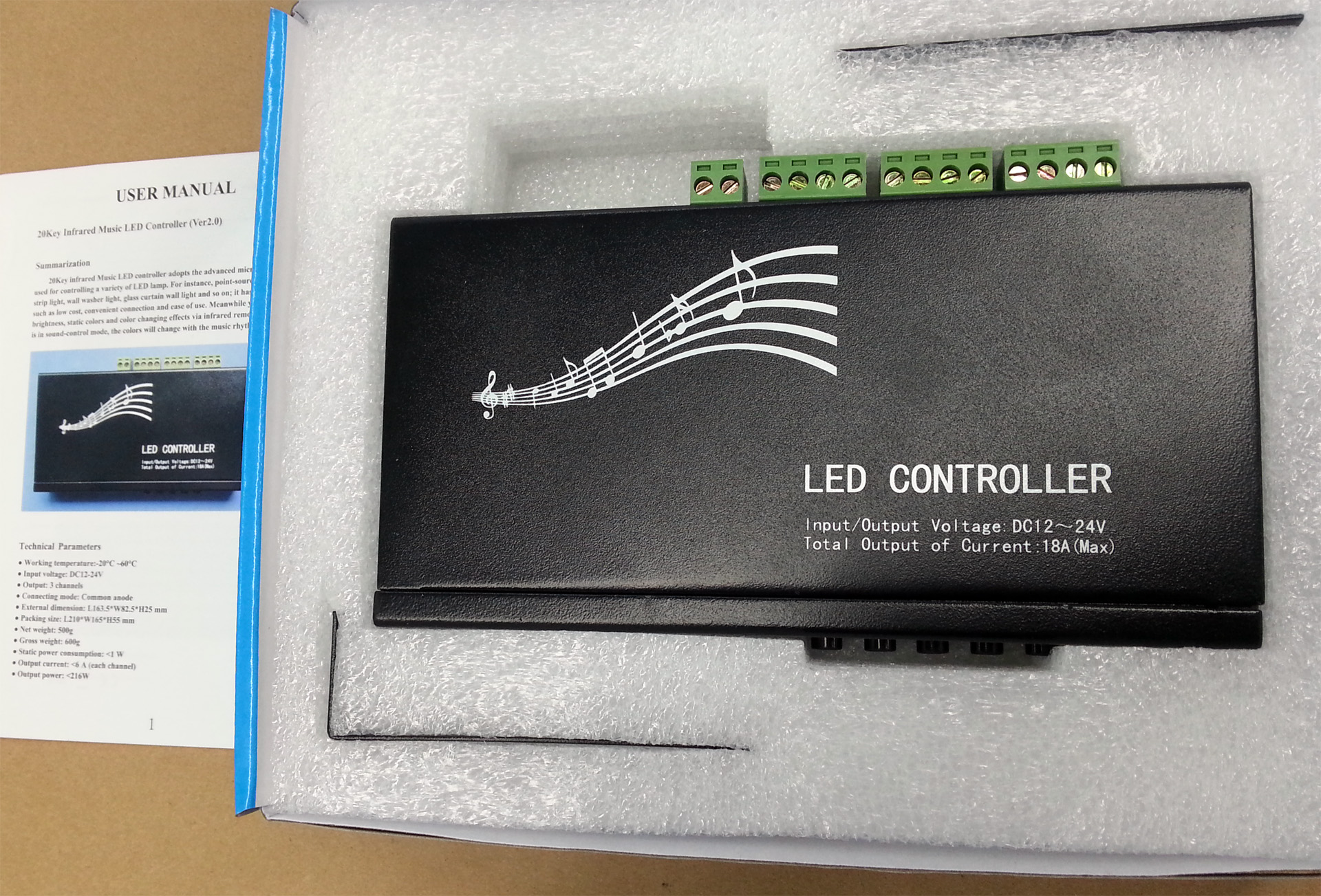 music_LED_controller